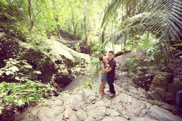 Xiaofen and Eric's Ton Sai Waterfall pre wedding (prenuptial, engagement session) in Phuket, Thailand. Ton Sai Waterfall_Phuket_wedding_photographer_Xiaofen and Eric_18.JPG