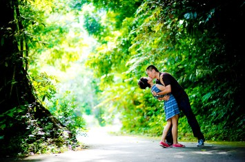 Xiaofen and Eric's Ton Sai Waterfall pre wedding (prenuptial, engagement session) in Phuket, Thailand. Ton Sai Waterfall_Phuket_wedding_photographer_Xiaofen and Eric_20.JPG