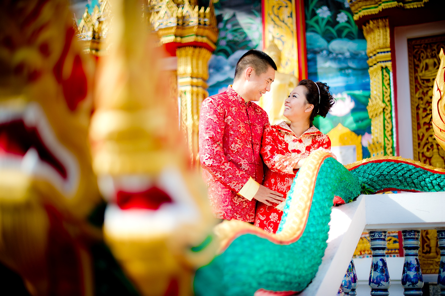 Photo of the Day: Wat Choeng Thale Phuket Pre Wedding (Thai Temple)
