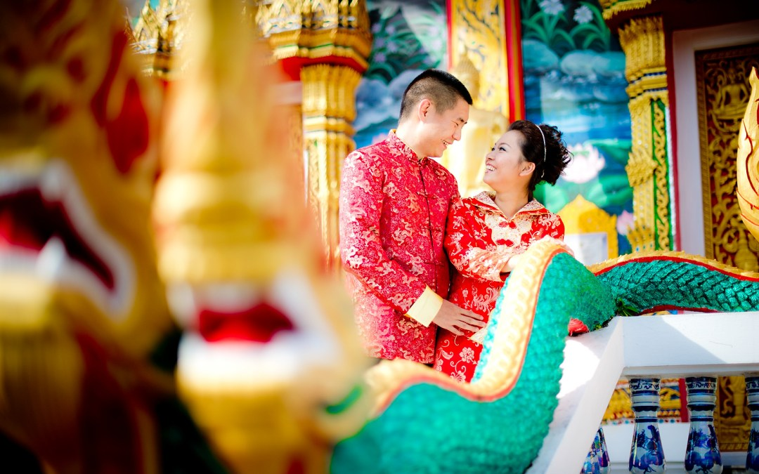 Photo of the Day: Wat Choeng Thale Phuket Pre Wedding (Thai Temple)