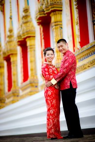 Xiaofen and Eric's Wat Choeng Thale pre wedding (prenuptial, engagement session) in Phuket, Thailand. Wat Choeng Thale_Phuket_wedding_photographer_Xiaofen and Eric_28.JPG