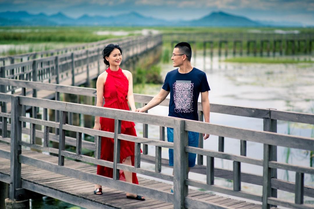 Khao Sam Roi Yod Hua Hin Pre-Wedding Photography   Jojo and Richard