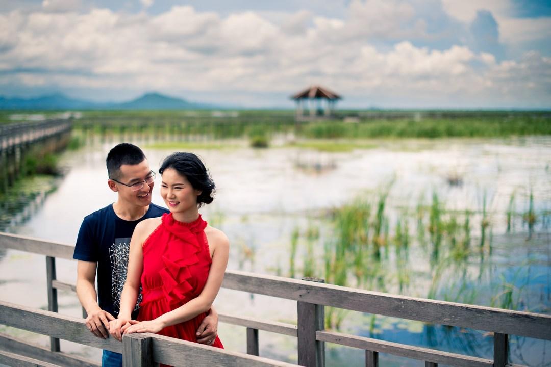 Khao Sam Roi Yot National Park (Nature Study Center Bung Baw) Hua Hin Pre-Wedding | Hua Hin Wedding Photography