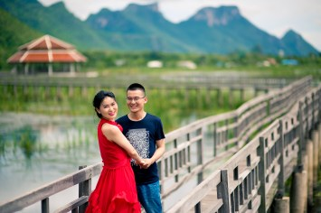 Khao Sam Roi Yod Hua Hin Pre-Wedding Photography | Jojo and Richard