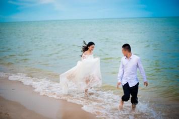 Hua Hin Beach Pre-Wedding Photography | Jojo and Richard