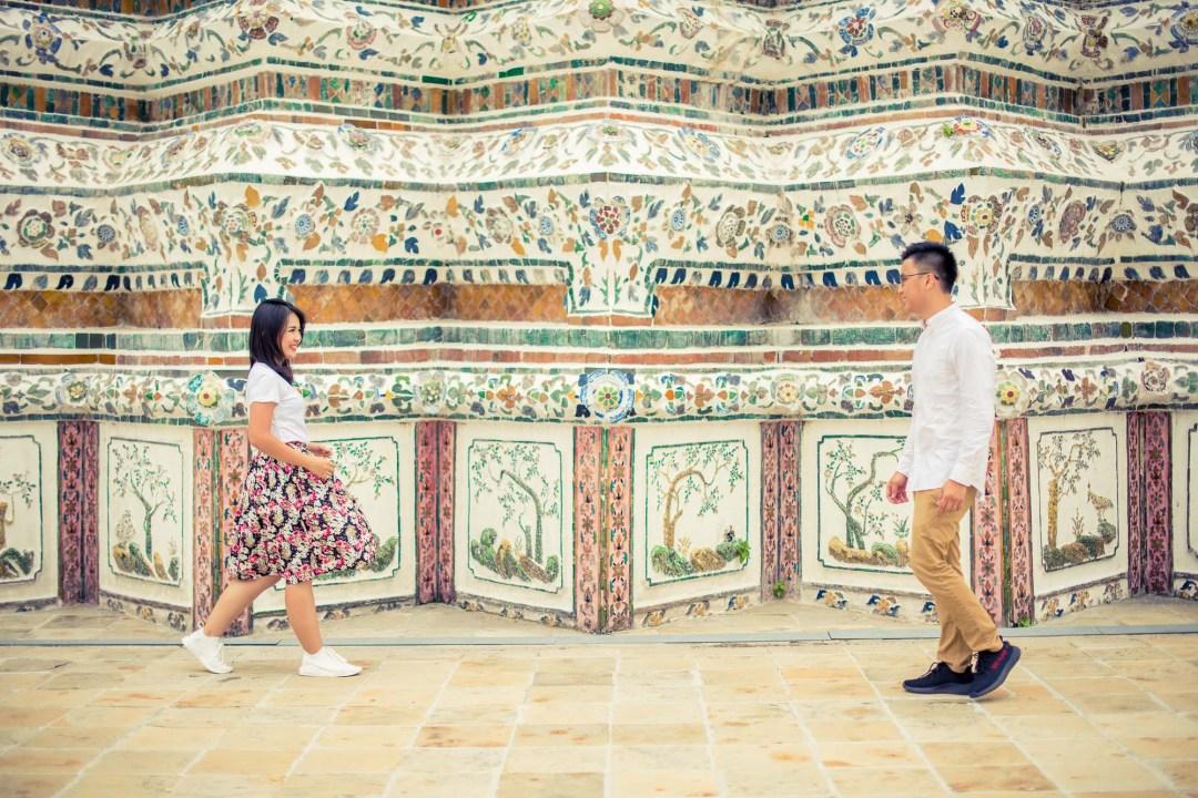 Pre-Wedding at Wat Arun in Bangkok Thailand   Bangkok Wedding Photography