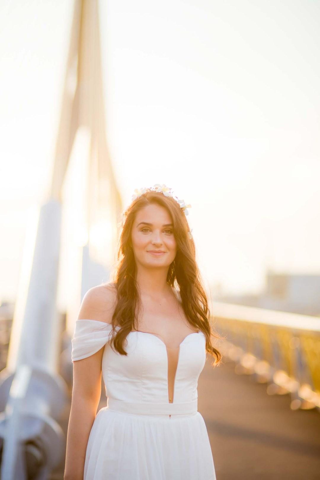 Pre-Wedding Rama VIII Suspension Bridge in Bangkok Thailand   Bangkok Wedding Photography