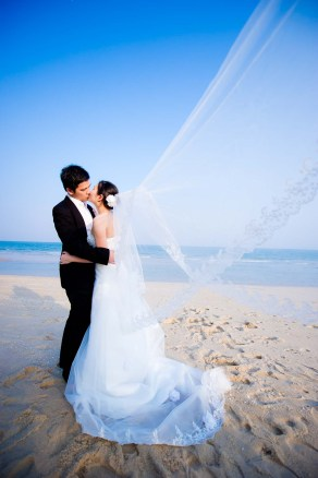 Kissing Photo | Hua Hin Beach Pre-Wedding - Thailand Wedding Photography