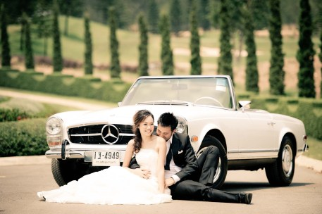 Kissing Photo | Khao Yai Pre-Wedding - Thailand Wedding Photography
