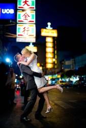 Kissing Photo | Bangkok Engagement Session - Thailand Wedding Photography