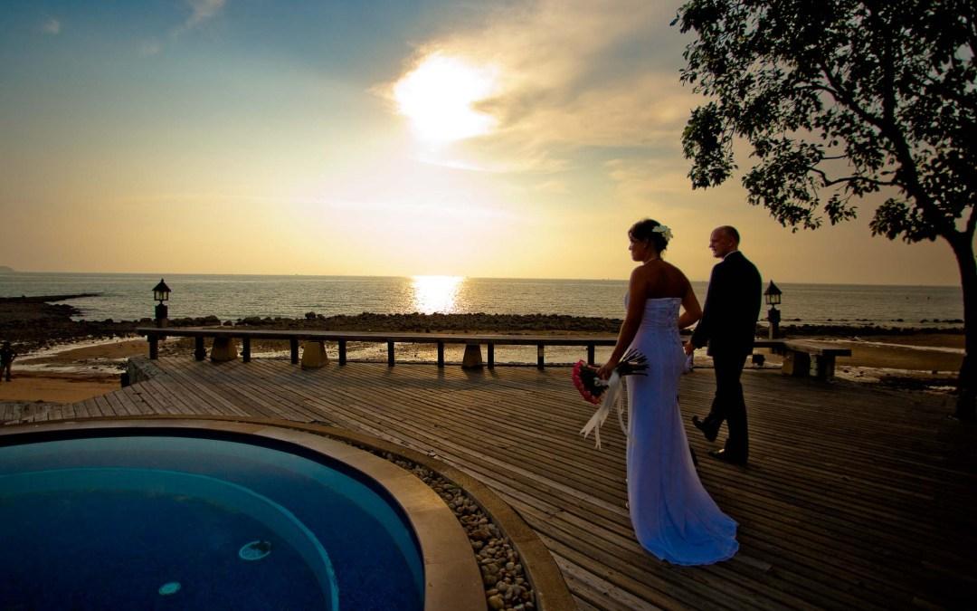 Thailand Chon Buri Sunset Park Resort & Spa Wedding Photography