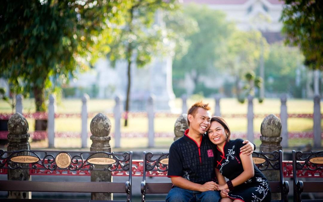 Bangkok Engagement Session | Wedding Couple from Brunei