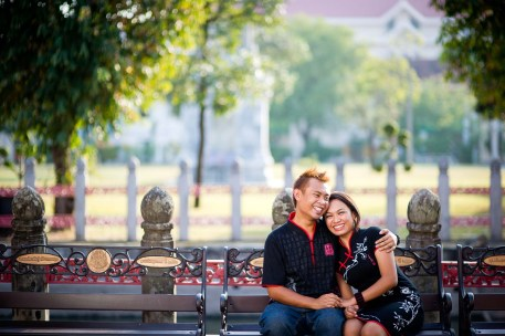 Pre-Wedding photo shoot in Bangkok Thailand