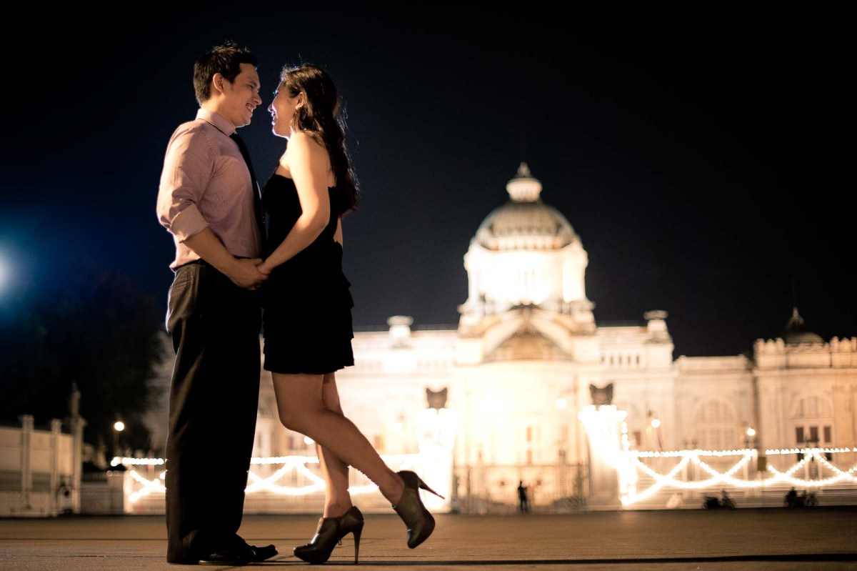 Bangkok Pre-Wedding Photography | L & R