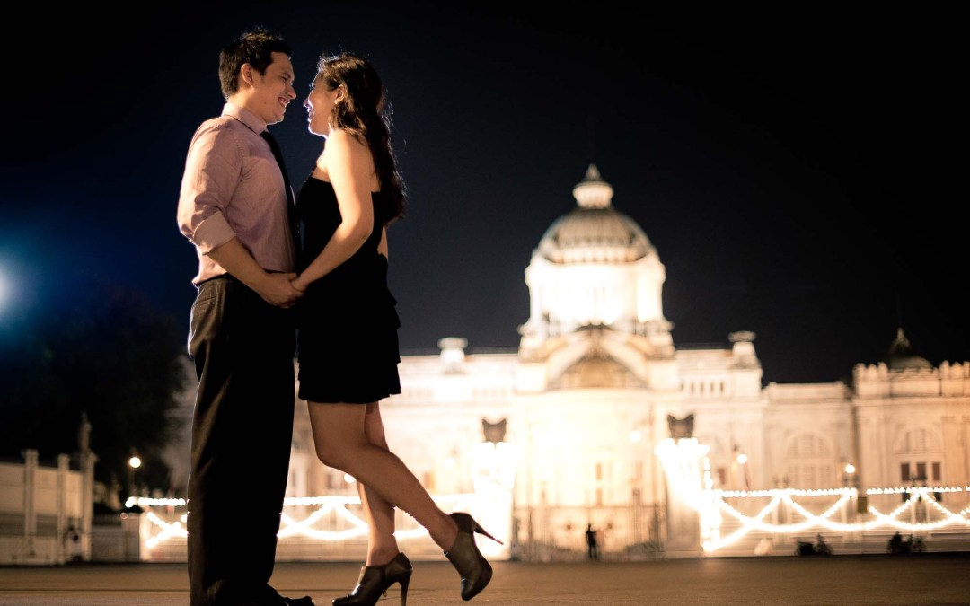 Bangkok Pre-Wedding Photography | L & R