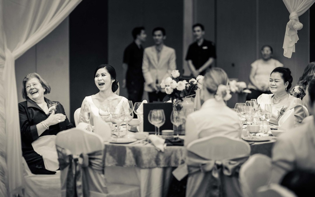 How we turn your wedding photos into Black and White