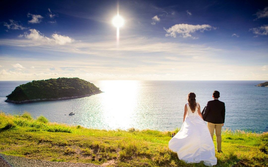 Photo of the Day: Windmill Viewpoint Phuket Pre-Wedding