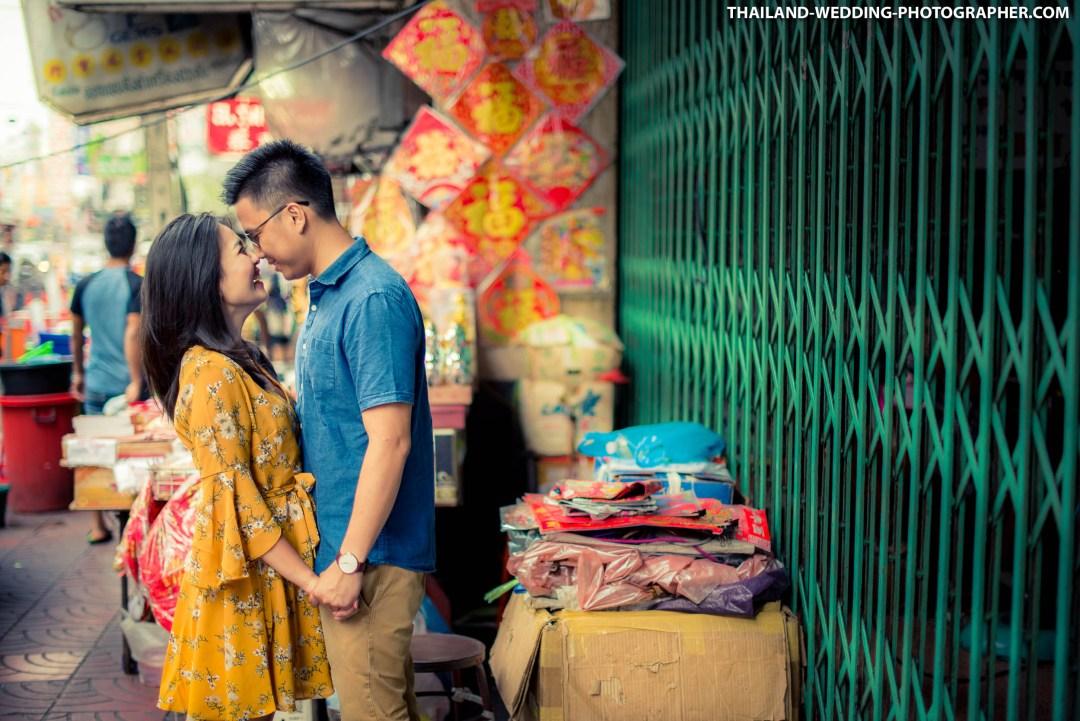 Thailand Bangkok China Town Wedding Photography | NET-Photography Thailand Wedding Photographer