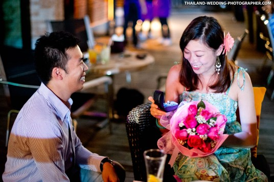 Thailand Central Festival Pattaya Beach Marriage Proposal