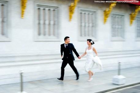 Thailand Bangkok Marble Temple Honeymoon Session