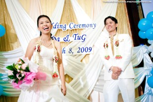 Thai Wedding at Ploen Restaurant Bangkok Thailand