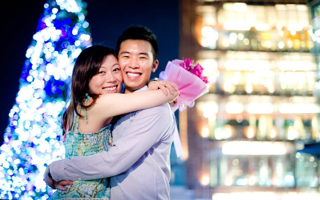 Marriage Proposal at CentralFestival Pattaya Beach