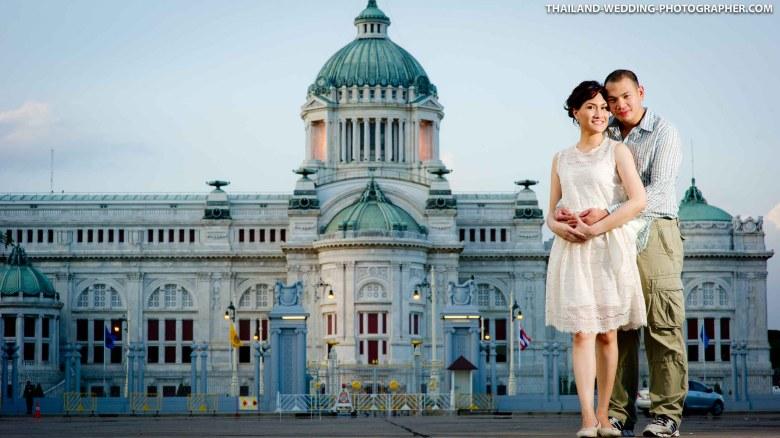 Ananta Samakhom Throne Hall Bangkok Pre-Wedding Photography