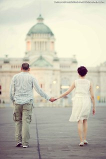 Ananta Samakhom Throne Hall Bangkok Pre-Wedding Photography