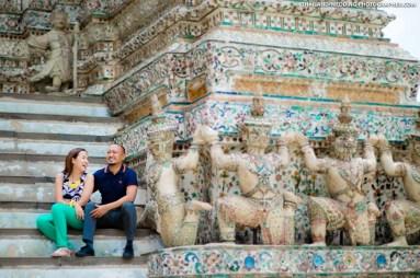 Wat Arun Ratchawararam Ratchawaramahawihan Bangkok Thailand Wedding Photography