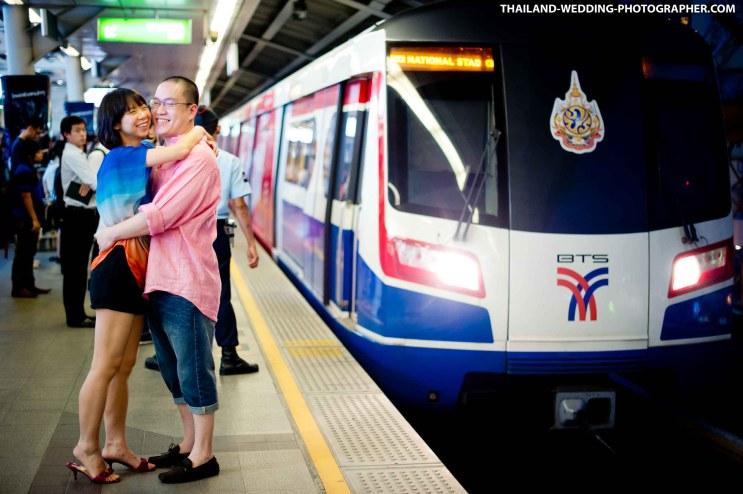 Pre-Wedding in Bangkok, Thailand.