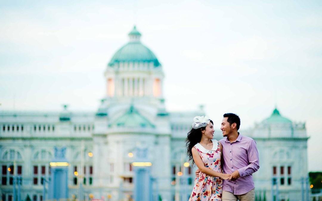 Bangkok Pre-Wedding of a couple from Indonesia