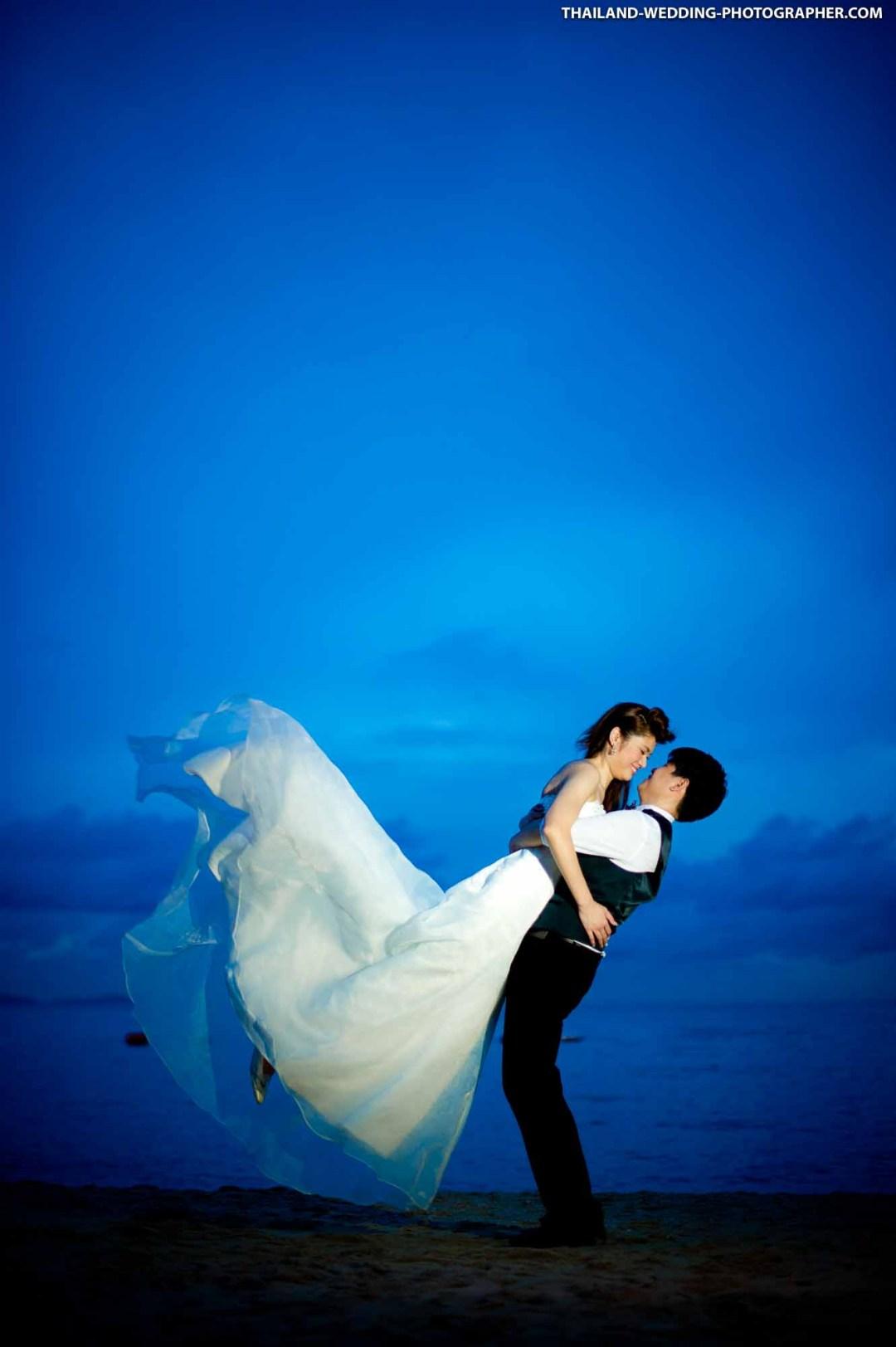 Pattaya Beach Thailand Prenuptial Photography (Engagement Session, Pre-Wedding)