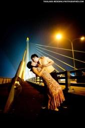 Rama 8 Bridge Bangkok Thailand Prenuptial Photography