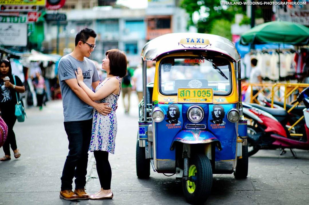 Khao San Road Bangkok Thailand Wedding Photography