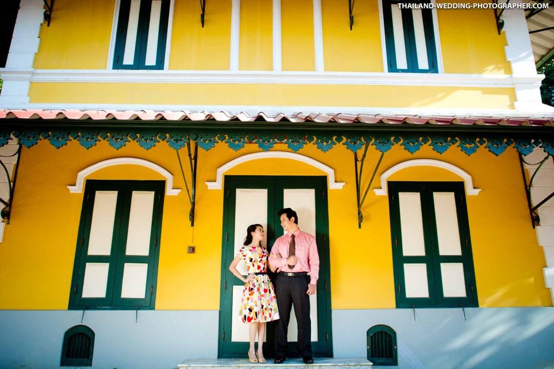 Wat Niwet Thammaprawat Museum Ayutthaya Thailand Wedding Photography