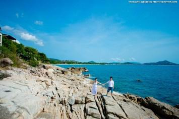 Lad Koh View Point Koh Samui Wedding Photography