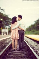 Hua Hin Railway Train Station Wedding Photography