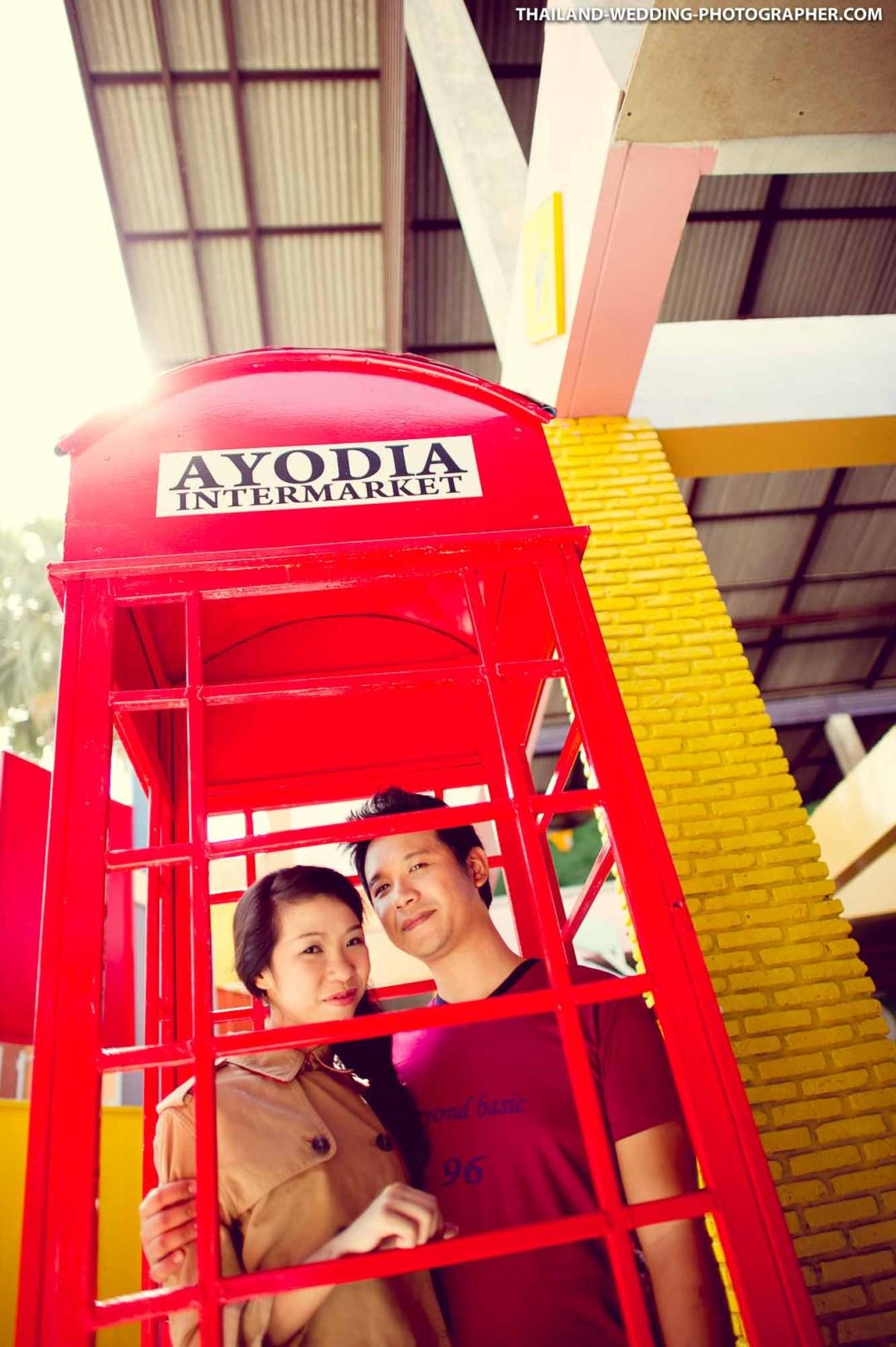 Ayothaya Floating Market Ayutthaya Thailand Wedding Photography