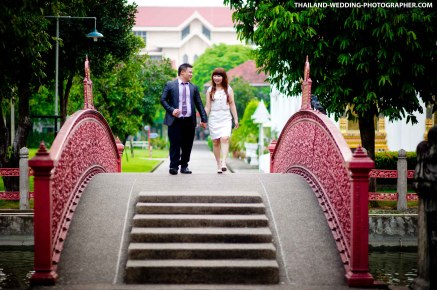 Wat Benchamabophit Bangkok Thailand Wedding Photography