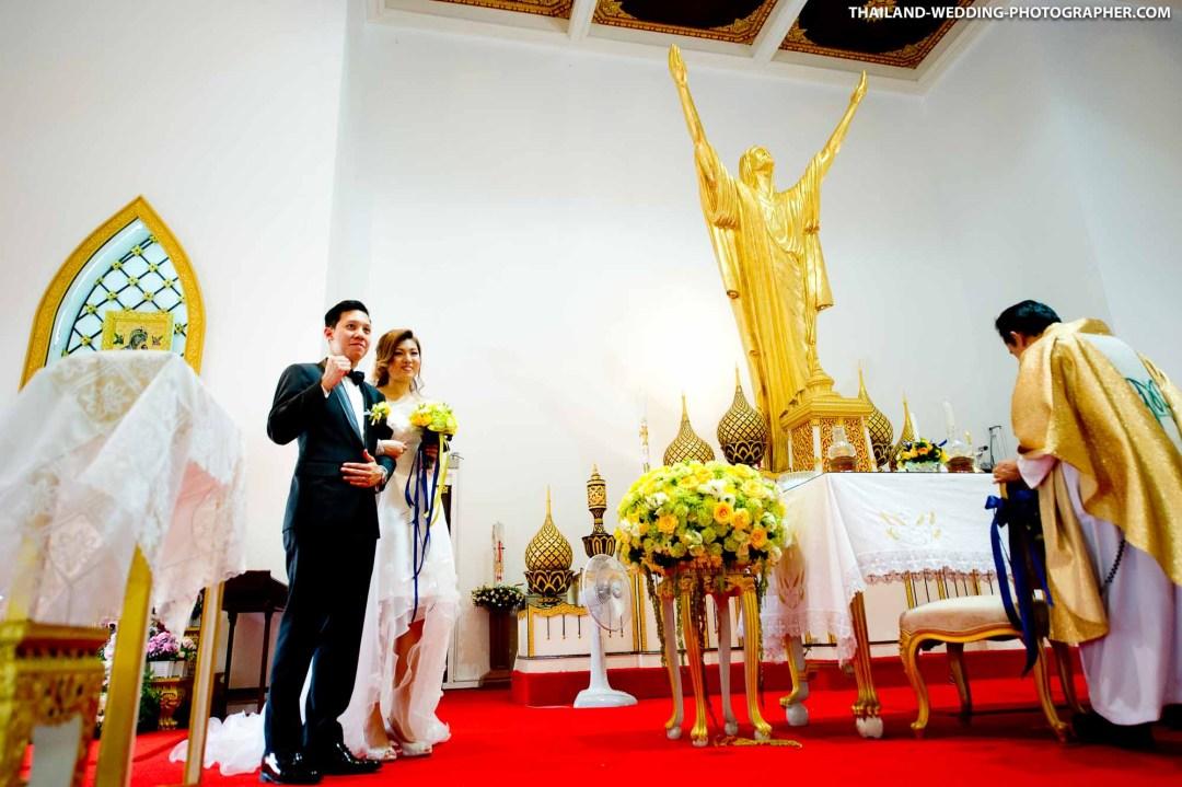 Holy Redeemer Church Bangkok Thailand Wedding Photography