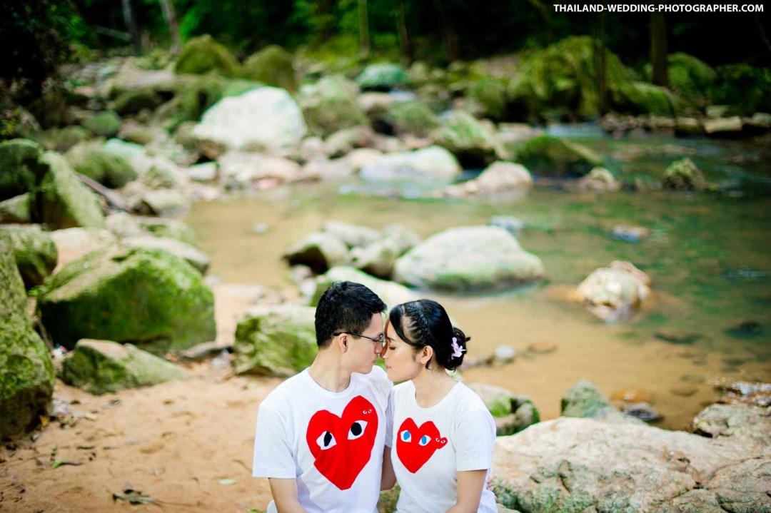 Na Mueang-1 Waterfall Koh Samui Thailand Wedding Photography