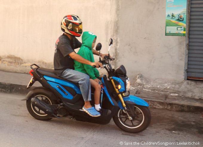 Enforce Helmet Law For Children