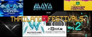 Thailand, DJ, Festivals, Bangkok, Nightlife, Clublife, MC, Schedules