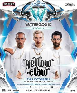 Ztudio Live Hall Bangkok Presents Road to Waterzonic with Yellow Claw, Festival, Bangkok Nightlife