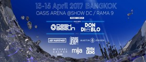 S2O Songkran Music Festival Bangkok 2017 - Phase I DJ Lineup, Thailand, New Years, Event, Music Festival