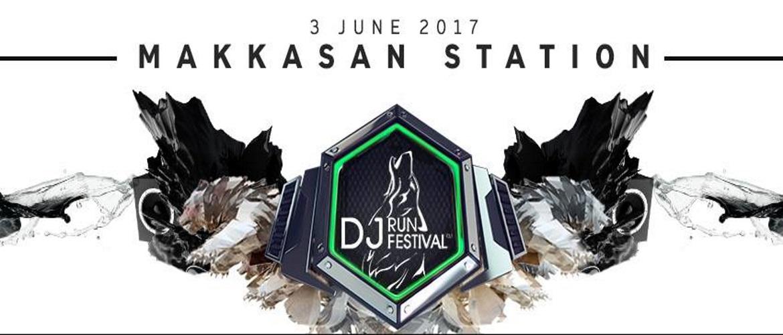 DJ Run Festival Bangkok at Makkasan Station