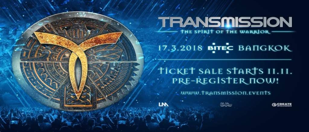 Transmission Festival Bangkok 2018 Ticket Sales!
