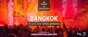 Sensation Bangkok 2018 - Banner, EDM Thailand, DJ Festival