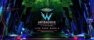 Waterzonic Bangkok 2018 - Live Park Banner, DJ Festival, Thailand