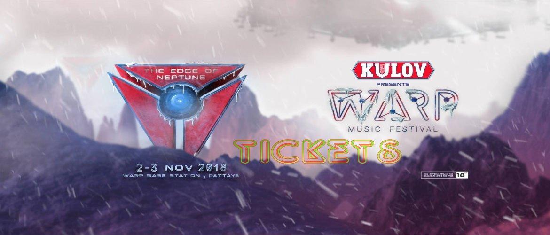Warp Music Festival Pattaya 2018-tickets, Early Bird. Music Festival